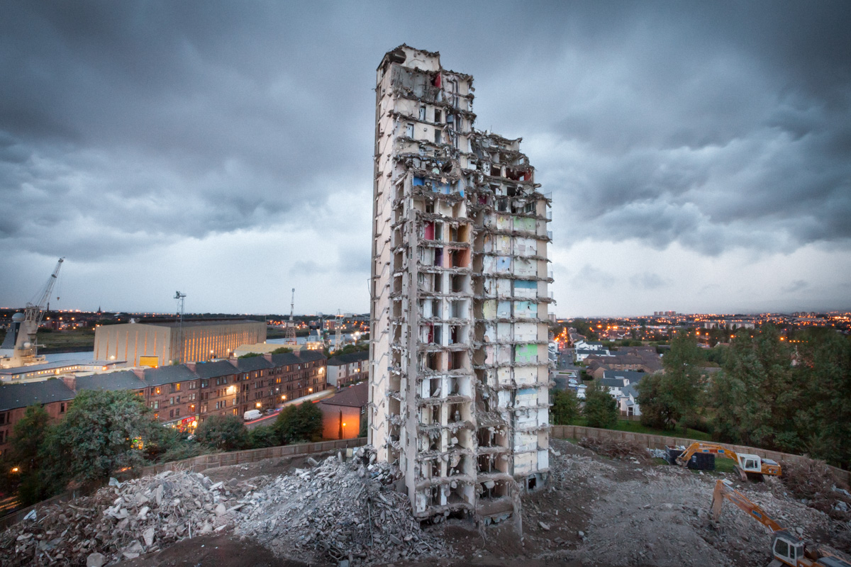 High Rise Flat demolition