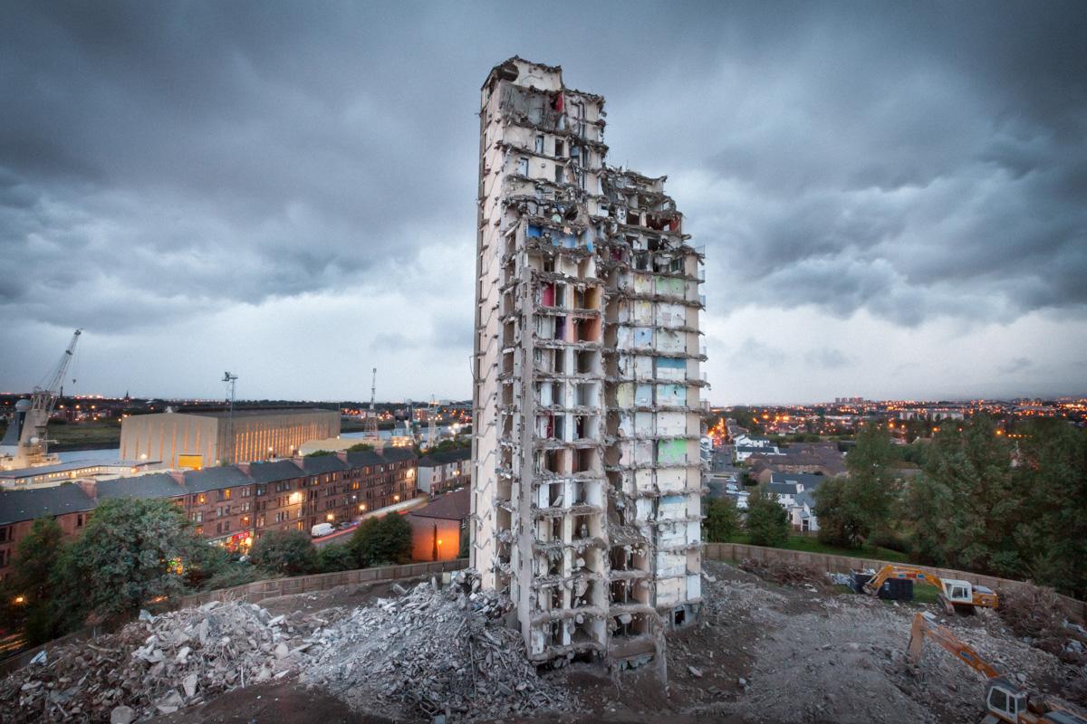 High Rise Flat demolition